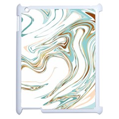 Abstract Marble 1 Apple Ipad 2 Case (white) by tarastyle