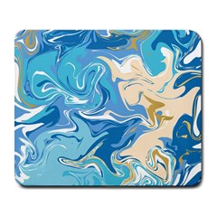 Abstract Marble 2 Large Mousepads by tarastyle