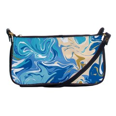 Abstract Marble 2 Shoulder Clutch Bags by tarastyle