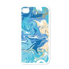 Abstract Marble 2 Apple Iphone 4 Case (white) by tarastyle