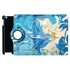 Abstract Marble 2 Apple Ipad 2 Flip 360 Case by tarastyle