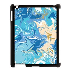 Abstract Marble 2 Apple Ipad 3/4 Case (black) by tarastyle