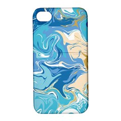 Abstract Marble 2 Apple Iphone 4/4s Hardshell Case With Stand by tarastyle