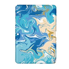 Abstract Marble 2 Samsung Galaxy Tab 2 (10 1 ) P5100 Hardshell Case  by tarastyle
