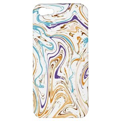 Abstract Marble 3 Apple Iphone 5 Hardshell Case by tarastyle