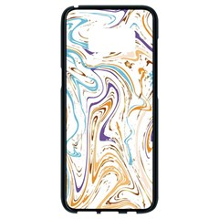 Abstract Marble 3 Samsung Galaxy S8 Black Seamless Case by tarastyle
