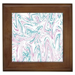 Abstract Marble 4 Framed Tiles by tarastyle