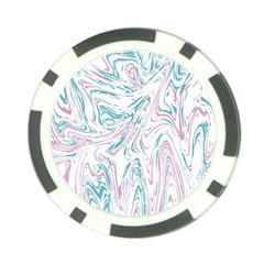 Abstract Marble 4 Poker Chip Card Guard (10 Pack) by tarastyle