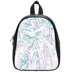 Abstract Marble 4 School Bag (small) by tarastyle