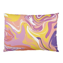 Abstract Marble 5 Pillow Case by tarastyle