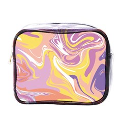 Abstract Marble 5 Mini Toiletries Bags by tarastyle