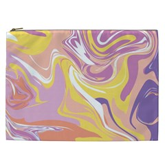 Abstract Marble 5 Cosmetic Bag (xxl)  by tarastyle