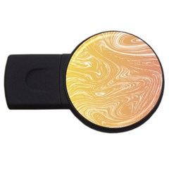 Abstract Marble 6 Usb Flash Drive Round (4 Gb) by tarastyle