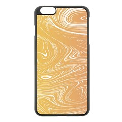 Abstract Marble 6 Apple Iphone 6 Plus/6s Plus Black Enamel Case by tarastyle