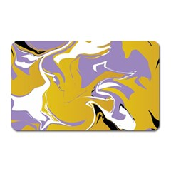 Abstract Marble 7 Magnet (rectangular) by tarastyle