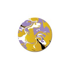 Abstract Marble 7 Golf Ball Marker by tarastyle