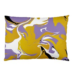 Abstract Marble 7 Pillow Case by tarastyle