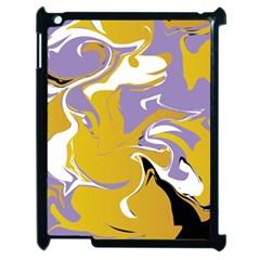 Abstract Marble 7 Apple Ipad 2 Case (black) by tarastyle