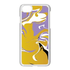 Abstract Marble 7 Apple Iphone 7 Seamless Case (white) by tarastyle