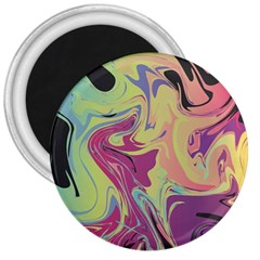 Abstract Marble 8 3  Magnets by tarastyle
