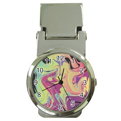 Abstract Marble 8 Money Clip Watches by tarastyle