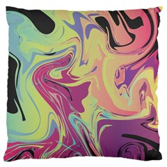 Abstract Marble 8 Large Cushion Case (one Side) by tarastyle