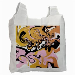 Abstract Marble 9 Recycle Bag (one Side) by tarastyle