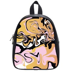 Abstract Marble 9 School Bag (small) by tarastyle