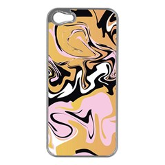 Abstract Marble 9 Apple Iphone 5 Case (silver) by tarastyle