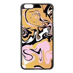 Abstract Marble 9 Apple Iphone 6 Plus/6s Plus Black Enamel Case by tarastyle