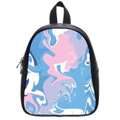 Abstract Marble 10 School Bag (small) by tarastyle