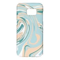 Abstract Marble 11 Samsung Galaxy S7 Edge Hardshell Case by tarastyle