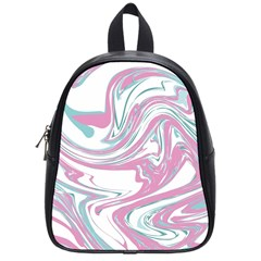 Abstract Marble 12 School Bag (small) by tarastyle