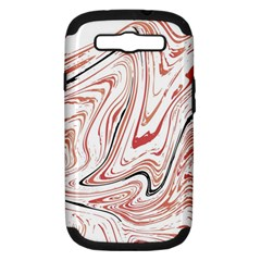 Abstract Marble 13 Samsung Galaxy S Iii Hardshell Case (pc+silicone) by tarastyle