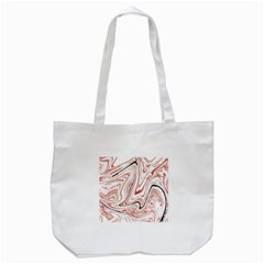 Abstract Marble 13 Tote Bag (white) by tarastyle