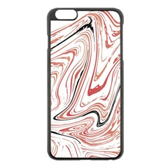 Abstract Marble 13 Apple Iphone 6 Plus/6s Plus Black Enamel Case by tarastyle