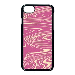 Abstract Marble 14 Apple Iphone 7 Seamless Case (black) by tarastyle