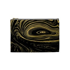 Abstract Marble 15 Cosmetic Bag (medium)  by tarastyle