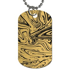 Abstract Marble 16 Dog Tag (two Sides) by tarastyle