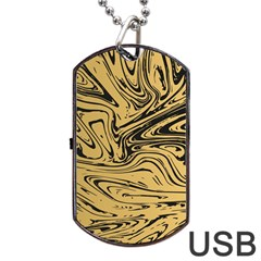 Abstract Marble 16 Dog Tag Usb Flash (two Sides) by tarastyle