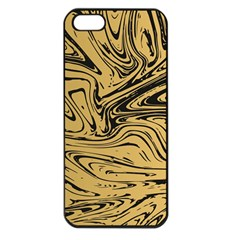Abstract Marble 16 Apple Iphone 5 Seamless Case (black) by tarastyle