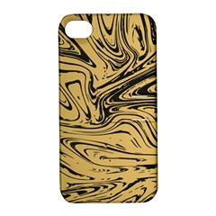 Abstract Marble 16 Apple Iphone 4/4s Hardshell Case With Stand by tarastyle