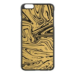 Abstract Marble 16 Apple Iphone 6 Plus/6s Plus Black Enamel Case by tarastyle