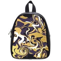 Abstract Marble 17 School Bag (small) by tarastyle