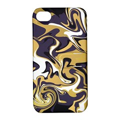 Abstract Marble 17 Apple Iphone 4/4s Hardshell Case With Stand by tarastyle