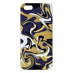 Abstract Marble 17 Apple Iphone 5 Premium Hardshell Case by tarastyle