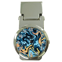 Abstract Marble 18 Money Clip Watches by tarastyle