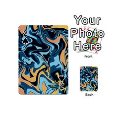Abstract Marble 18 Playing Cards 54 (mini)  by tarastyle