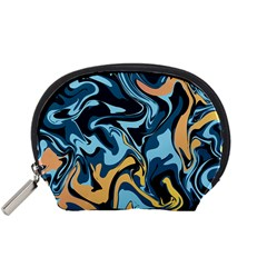 Abstract Marble 18 Accessory Pouches (small)  by tarastyle