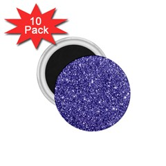 New Sparkling Glitter Print E 1 75  Magnets (10 Pack)  by MoreColorsinLife